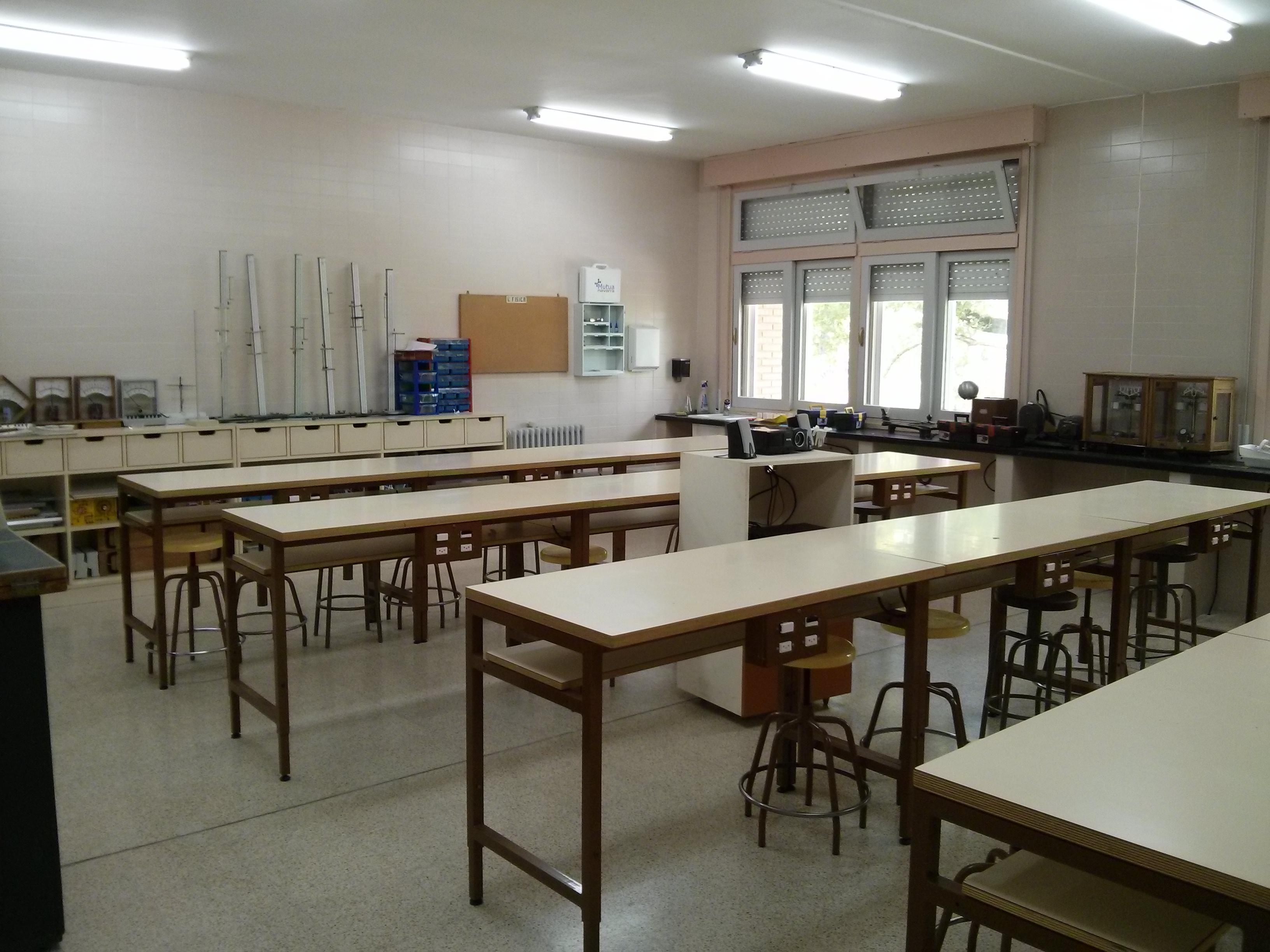Fisika kimika laboratorio